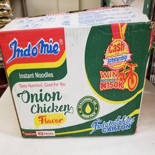 Nigerian Indomie (onion flavor) 1box - royacshop.com